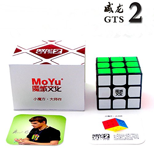 New Moyu 3x 3x 3Weilong gts2Version II Magic Cube Kunststoff Puzzle Speed Cube Weilong GTS 2zappeln Cube | dingze