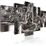 murando - Cuadro en Lienzo 200x100 cm - Buda - Impresion en calidad fotografica - Cuadro en lienzo tejido-no tejido - h-A-0053-b-p