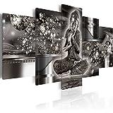 murando - Bilder 200x100 cm Vlies Leinwandbild 5 TLG Kunstdruck modern Wandbilder XXL Wanddekoration Design Wand Bild - Buddha h-A-0053-b-p