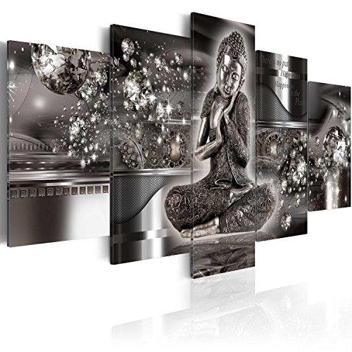 murando - Cuadro 200x100 cm - Buda - impresión de 5 Piezas - Material Tejido no Tejido - impresión artística - Imagen gráfica - Decoracion de Pared - h-A-0053-b-p