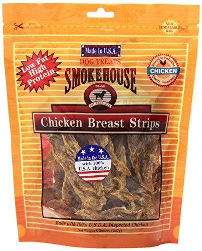 SMOKEHOUSE TREATS Räucheröfen 100% natürliche Hähnchenbrust, Streifen Hund behandelt (100% Natürlichen Hähnchenbrust)