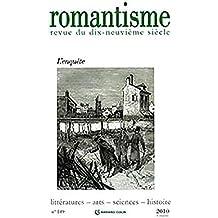 Romantisme nº 149 (3/2010) L'Enquête
