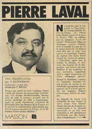 Livre Pierre Laval pdf epub