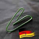 Selfbending Paperclip, Mental Zaubertrick + deutschsprachiger Anleitung von Its Magic Zaubershop, Büroklammer per Gedankenkraft verbiegen, Mentalmagie Zauberartikel, Coole Zaubertricks für Einsteiger