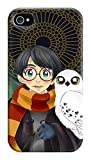 Neatik Coque pour iPhone 4/4S Motif Harry Potter
