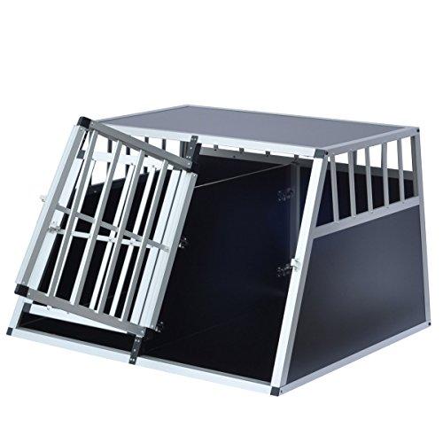 Delman Alu Hundetransportbox stabile Ellipsenrohren als Gitter 10-2004 -