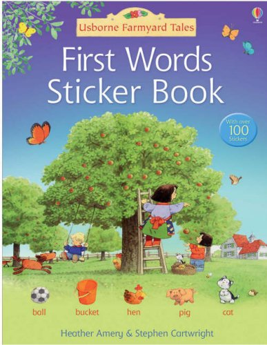 Farmyard Tales 1st Words. Sticker Book