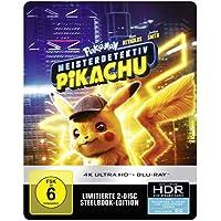 Pokémon Meisterdetektiv Pikachu 4K UHD + 2D Steelbook