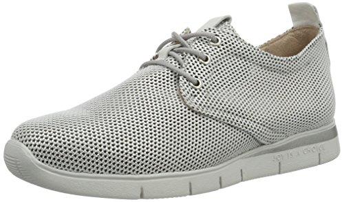 Hispanitas Guinea, Sneakers basses femme Silber (BIONIC-V7 SILVER)