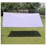 JIANFEI Tente De Camping Abri De Jardin Étanche Toile Bâche Tourisme De Plein Air Ombre De Jardin 4-5 Personnes Pouvant Accueillir, 5 Couleurs (Color : Purple, Size : 300x300cm)