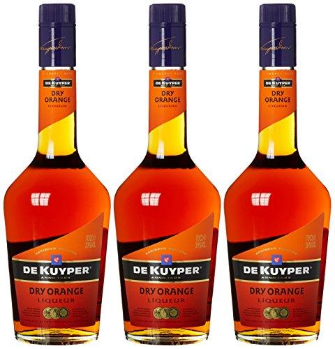 De Kuyper Dry Orange Likör (3 x 0.7 l)