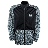 O'Neal Shore II Regenjacke Schwarz Grau Moto Cross Mountain Bike Enduro MX MTB DH, 0778-1, Größe Medium