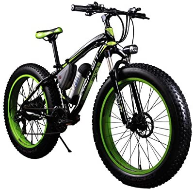 Bicicletas eléctricas para hombre Cruiser grasa bicicleta RT012350W * 36V * 10.4ah Fat tire 26