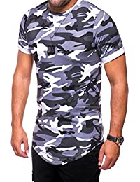 MT Styles Oversize T-Shirt Camouflage manches courtes C-9021