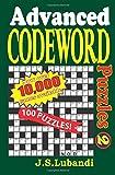 Advanced Codeword Puzzles 2: Volume 2