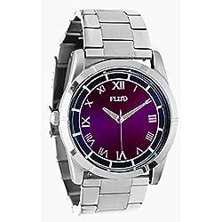 Flüd The Moment linked silver blue Watch Uhr TMT046 Armbanduhr Flud