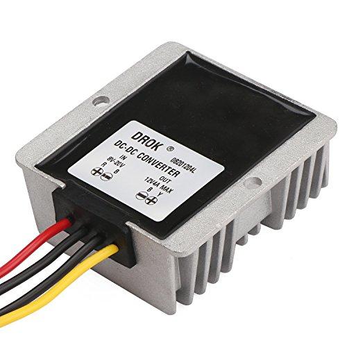 drok-dc-dc-buck-boost-converter-voltage-regulator-stabilizer-international-power-adapter-8-20v-to-12