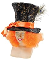 Mad Hatter Hat (With Hair) - Accessory