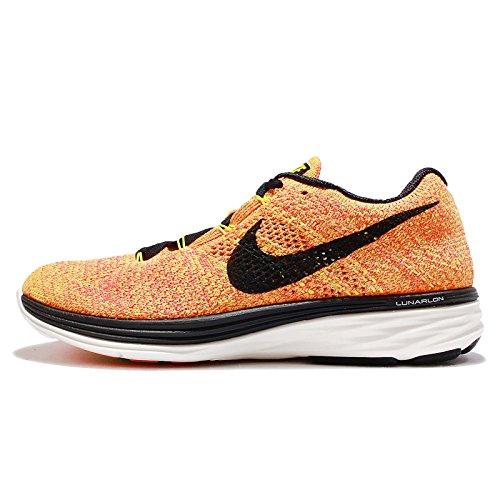 NikeFlyknit Lunar3 - Scarpe Running Donna Viola (Morado (Vlt / Blck-Brght Crmsn-Brght Mng))
