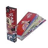 Manyo 30pcs/sac Papier Signet Vintage style japonais Marques livre pour École Étudiant