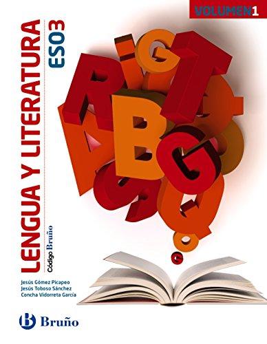 Código Bruño Lengua y Literatura 3 ESO - 3 volúmenes - 9788469610060 por Jesús Gómez Picapeo