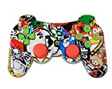 Best Controller For Ps3s - Vicstar Wireless PS3 Game Controller,Bluetooth Double Shock Game-Controller Review