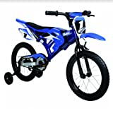 """Bici Motorbike Bicicletta per bambini 16"""" Motocross a pedali"""