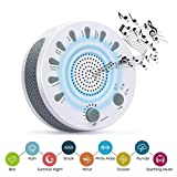 White Noise Machine, GAKOV GAGH-003 Soothing Sleep Therapy Sound Spa Relaxation Machine