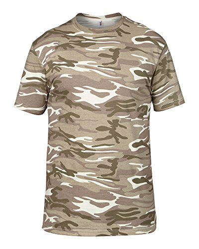Anvil Anvil heavy camouflage tee Camo Sand