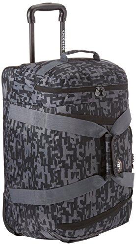 Chiemsee Reisetasche Rolling Duffle, Typo Black, 58 x 38 x 30 cm, 55 Liter, 5011004 (Trolley Duffle Rolling)