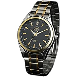 ufengke® casual stainless steel wrist watch,luminous gift watch for men-black