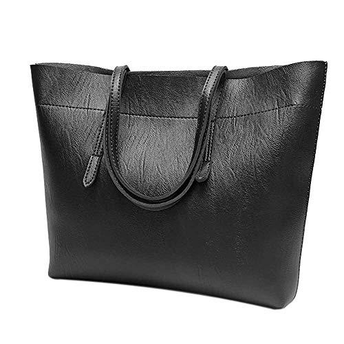 TianWlio Damen Klassische Handtasche Große Tasche Retro Tasche Handtasche Student Messenger Taschen Handtasche Winged Schultertasche Groß Umhängetasche Taschen