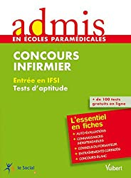 Concours infirmier : Entrée en IFSI, tests d'aptitude
