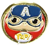 Funko - Pins Marvel - Civil War - Captain America Pop 3cm - 0849803085117
