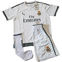 Equipación Infantil Completa Réplica Oficial Real Madrid Temporada 15/16 ...