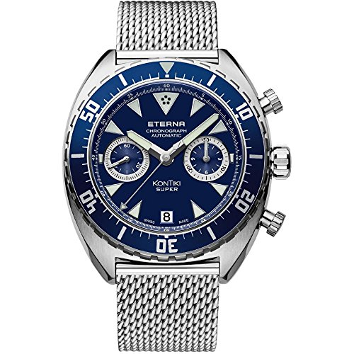 ETERNA MEN'S SUPER KONTIKI SPECIAL EDITION AUTOMATIC WATCH 7770-41-89-1718