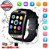 Bluetooth Smartwatch Sport Smart Watch mit Kamera Wasserdicht Uhren Fitness Tracker Armbanduhr Kompatible iOS iPhone Android Samsung LG für Herren Damen