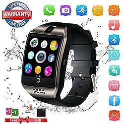 Bluetooth Smartwatch Sport Smart Watch Mit Kamera Wasserdicht Uhren Fitness Tracker Armbanduhr Kompatible Ios Iphone Android Samsung Lg Für Herren Damen