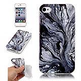 BONROY-Apple-iPhone-4-4S89-cm-35-Pouces-Coque-Housse-EtuiFashion-Belle-Srie-Marbling-Ultra-Mince-Thin-Soft-Silicone-Etui-de-Protection-pour-Souple-Gel-TPU-Bumper-Poussiere-Resistance-Anti-Scratch-Case