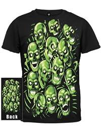 Old Glory - Mens Skull Pile Jumbo Green T-shirt