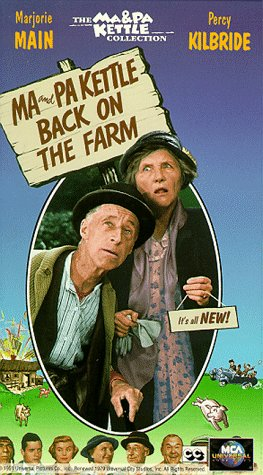 Ma and Pa Kettle Back on the Farm [VHS] -