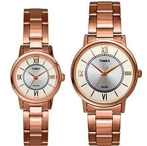 Timex Analog White Dial Unisex Watch - TW00PR215