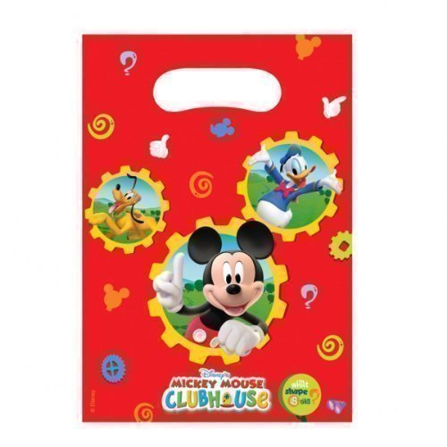 Mickey Mouse Clubhouse Party - Mickey Mouse Party Loot Bags x 6