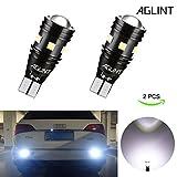 AGLINT 2X High Bright Feu de Position 912 921 W16W T15 3030 CANBUS Sans Erreur Ampoules Pour Auto LED Sauvegarde Inversée Ampoule, Xenon Blanc