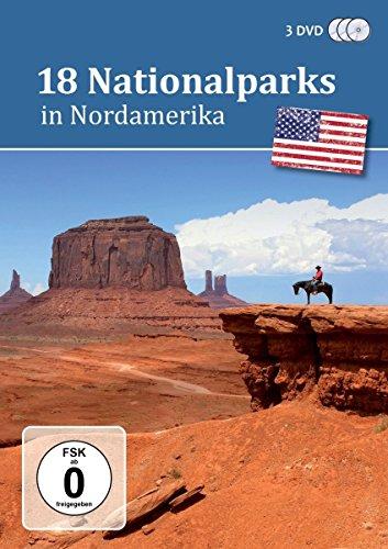 Preisvergleich Produktbild 18 Nationalparks in Nordamerika - Der Reiseführer [3 DVDs]