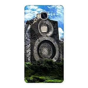 Impressive Speaker Of Rocks Back Case Cover for Huawei Honor 5X