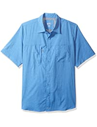 Woolrich Men's Expedition Canyon Short Sleeve Modern Fit Shirt