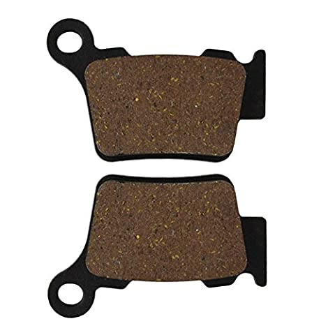 AHL- Motorcycle Rear Brake Pads Disc 1 pair for KTM SX 250 (2T) (Upside Down Forks) 2003-2011