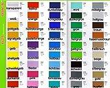 Klebefolie ORACAL ORAFOL HOCHLEISTUNGSFOLIE Plotterfolie Möbelfolie Wunschfarbe 63 x 100cm je Laufmeter (glänzend)