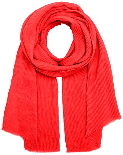 PIECES Damen PCNABIA Long Scarf Schal, Rot Flame Scarlet, One Size